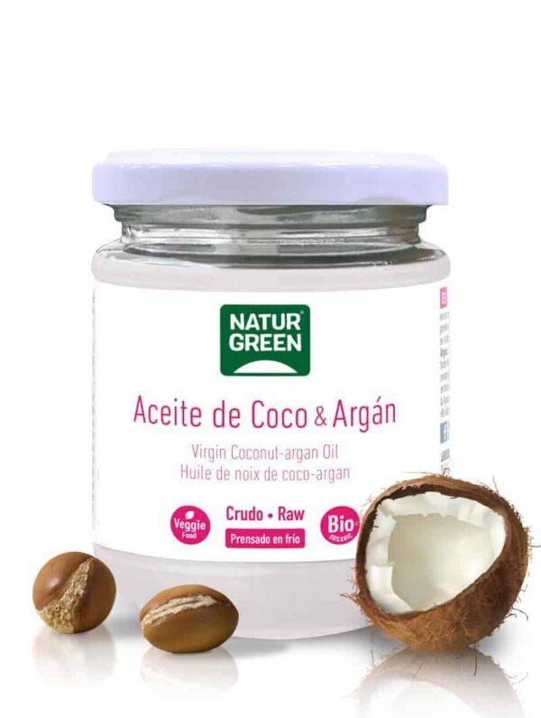 Aceite de Coco y Argan